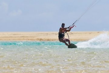 Viaggi Sport Kitesurf Fuerteventura Laguna Freestyle
