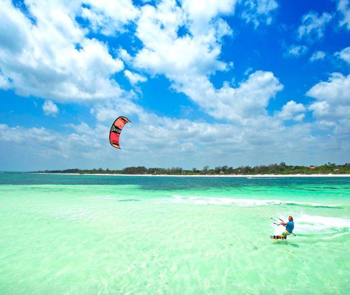 Viaggi Sport Viaggio Kitesurf Watamu Kenya Blue Lagoon Spot