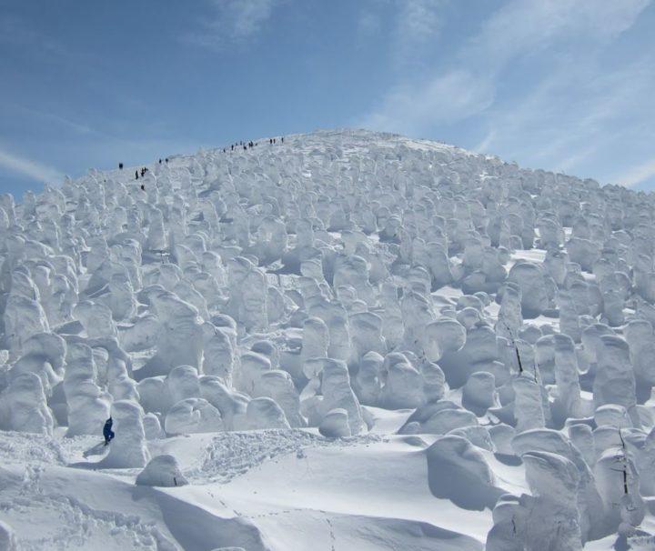 Viaggi Sport Viaggio Sci Giappone Zao Onsen Snow Monsters