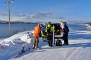 Viaggi Sport Viaggio Splitboard Norvegia Furgone Minivan Gruppo
