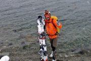 Viaggi Sport Viaggio Splitboard Norvegia Tromso Arrivo sul Mare Snowboard