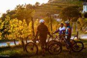 Viaggi Sport Cicloturismo e Mountain Bike in Franciacorta tramonto