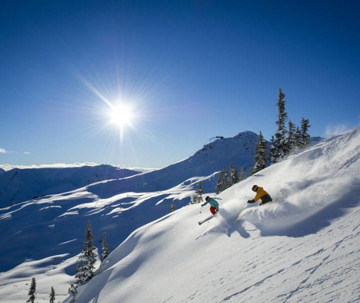 viaggi sport sci canada sci a whistler copertina