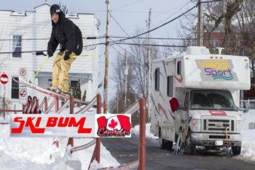 viaggi sport canada sci camper