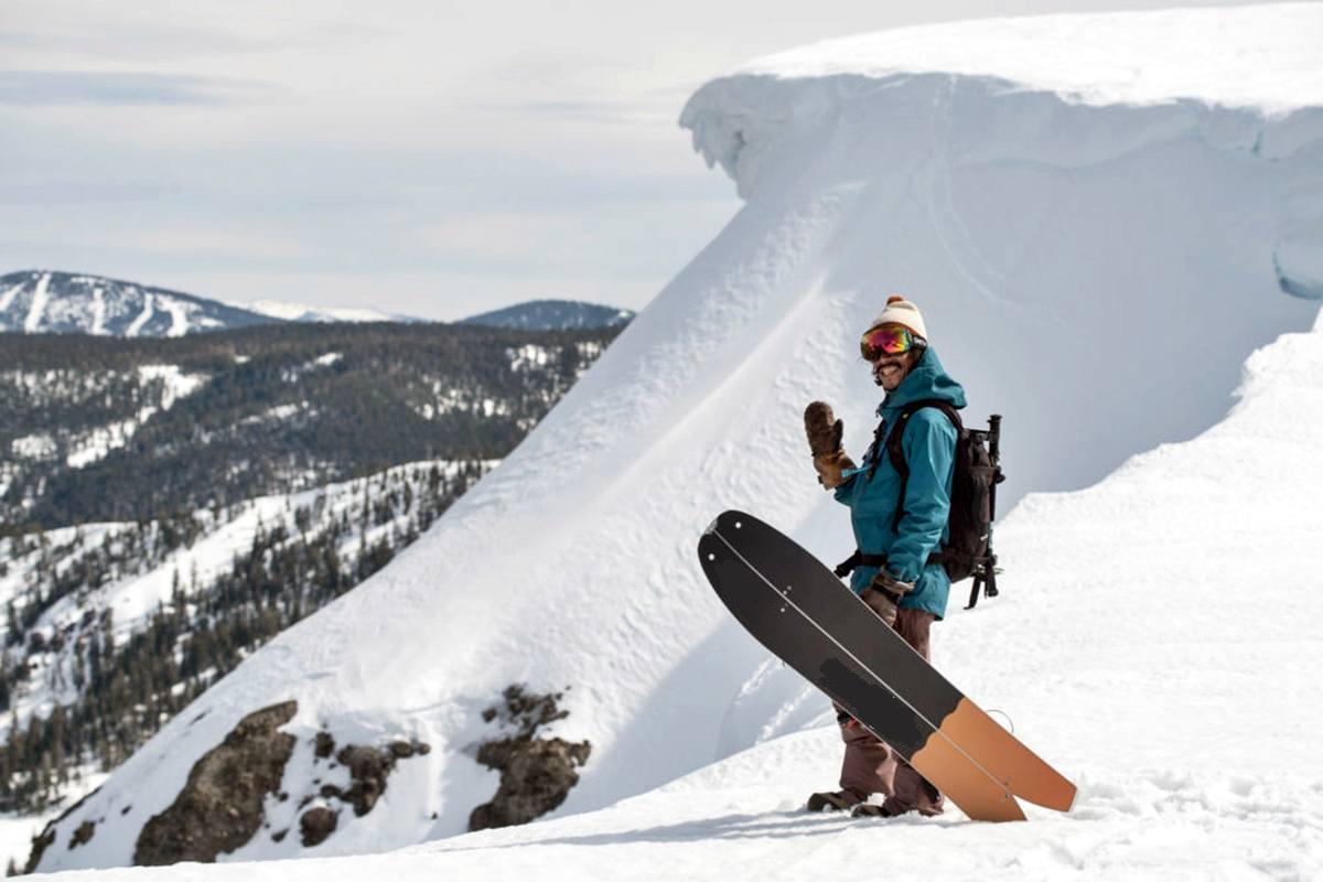 Viaggi Sport Splitboard Giappone Snowboard Backcountry