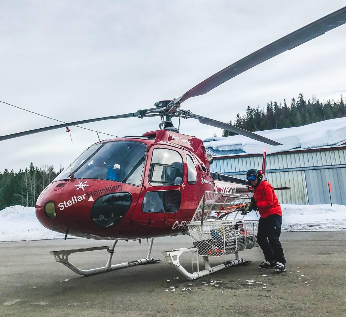 viaggi sport sci canada heliski