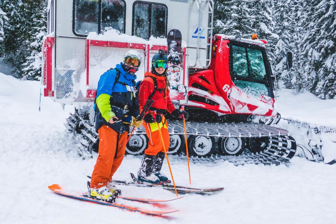 Viaggio Sci e Snowboard in Canada Catskiing