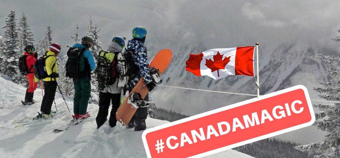 viaggio sci canada