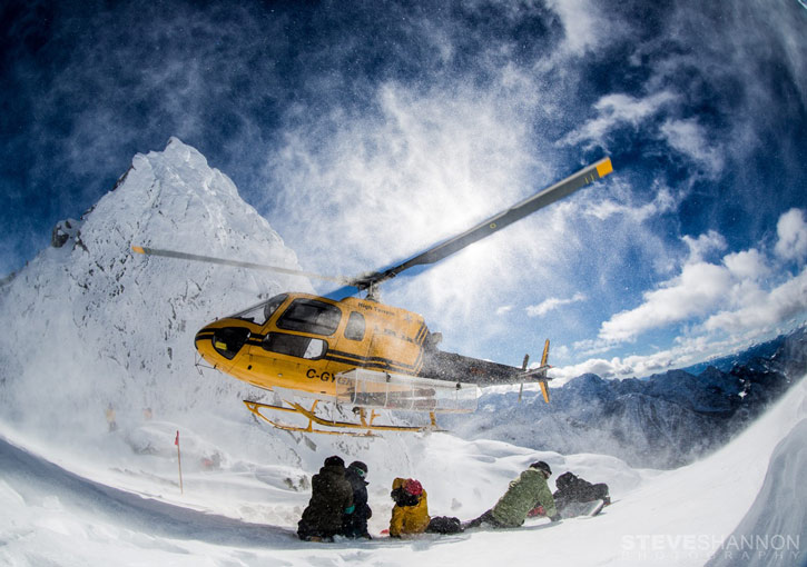 Heliski in Canada con Viaggi Sport - STELLAR HELSKI - copyright photo steve shannon photography