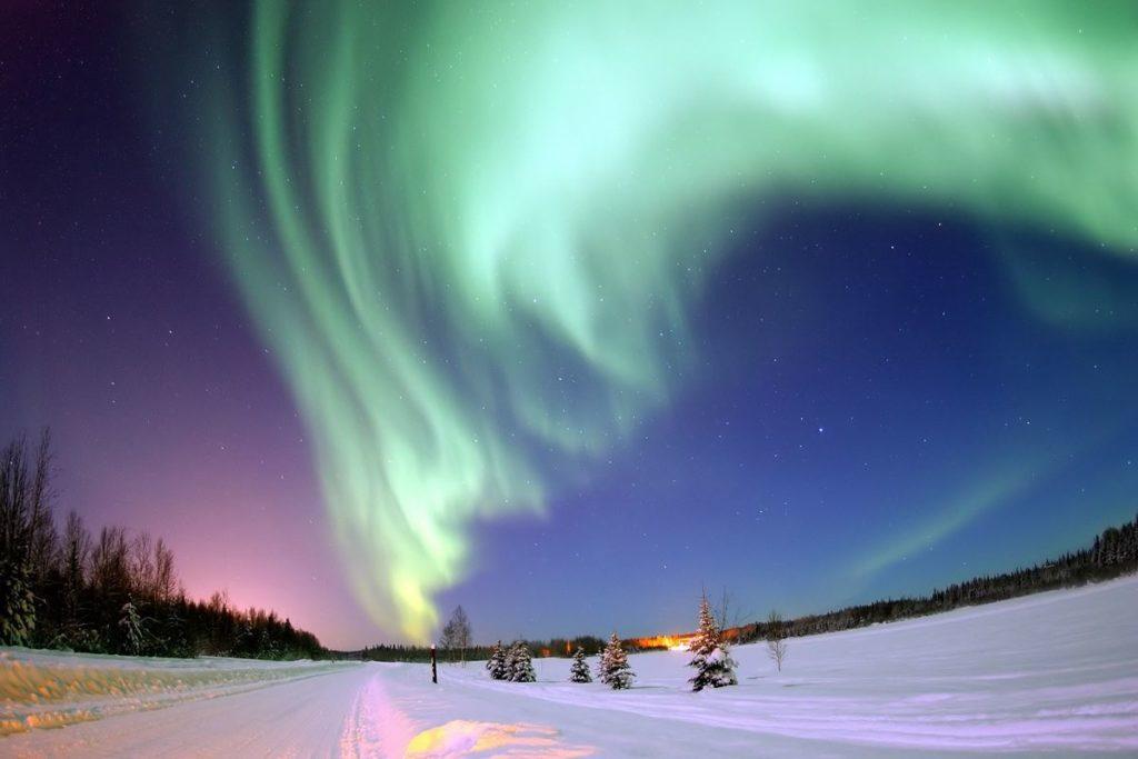 viaggio finlandia lapponia inverno aurora boreale