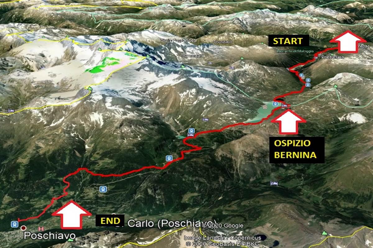 BERNINA EXPRESS MTB TOUR