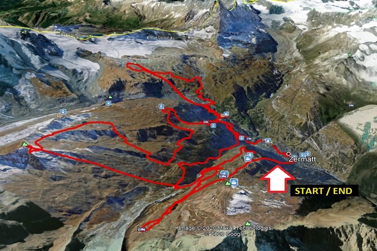 Mountain Bike Svizzera Zermatt