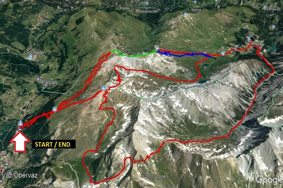 Mountain Bike Svizzera Lenzerheide Arosa Itinerari Mtb
