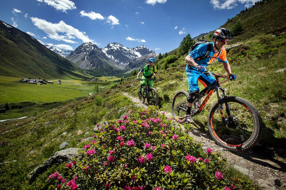Mountain Bike Ebike Enduro Davos Alps Epic Trail Photo Destination Davos Klosters ScottSportsSA