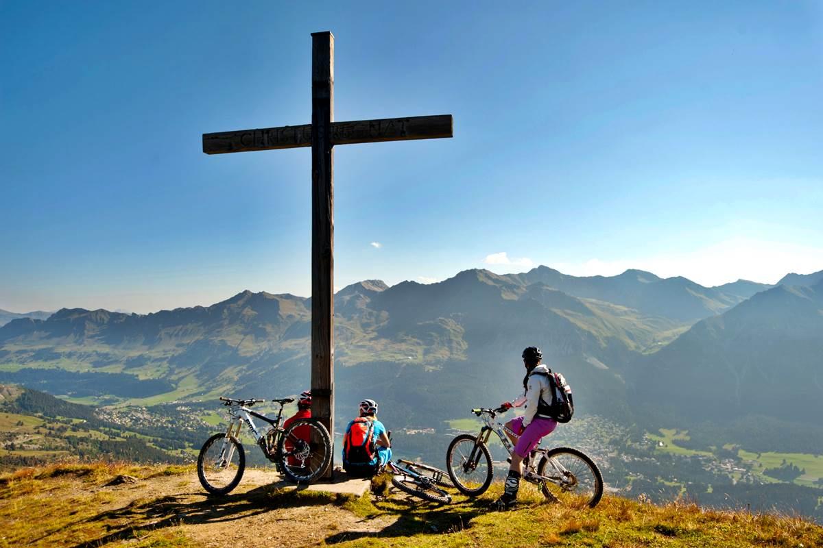 Mountain Bike Svizzera Lenzerheide Tour All Mountain Easy Copyright Lenzerheide Ferien