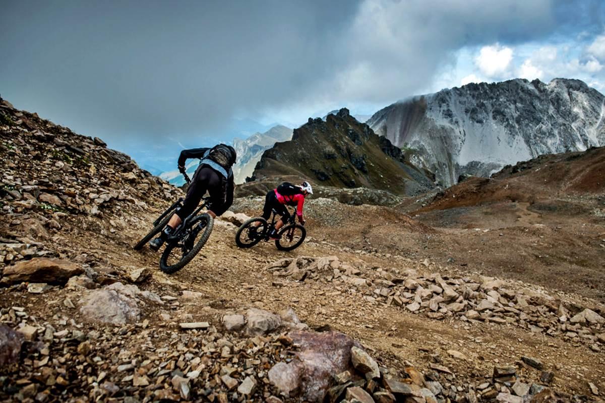 Mountain bike Svizzera Lenzerheide Enduro Mtb Copyright Lenzerheide Ferien