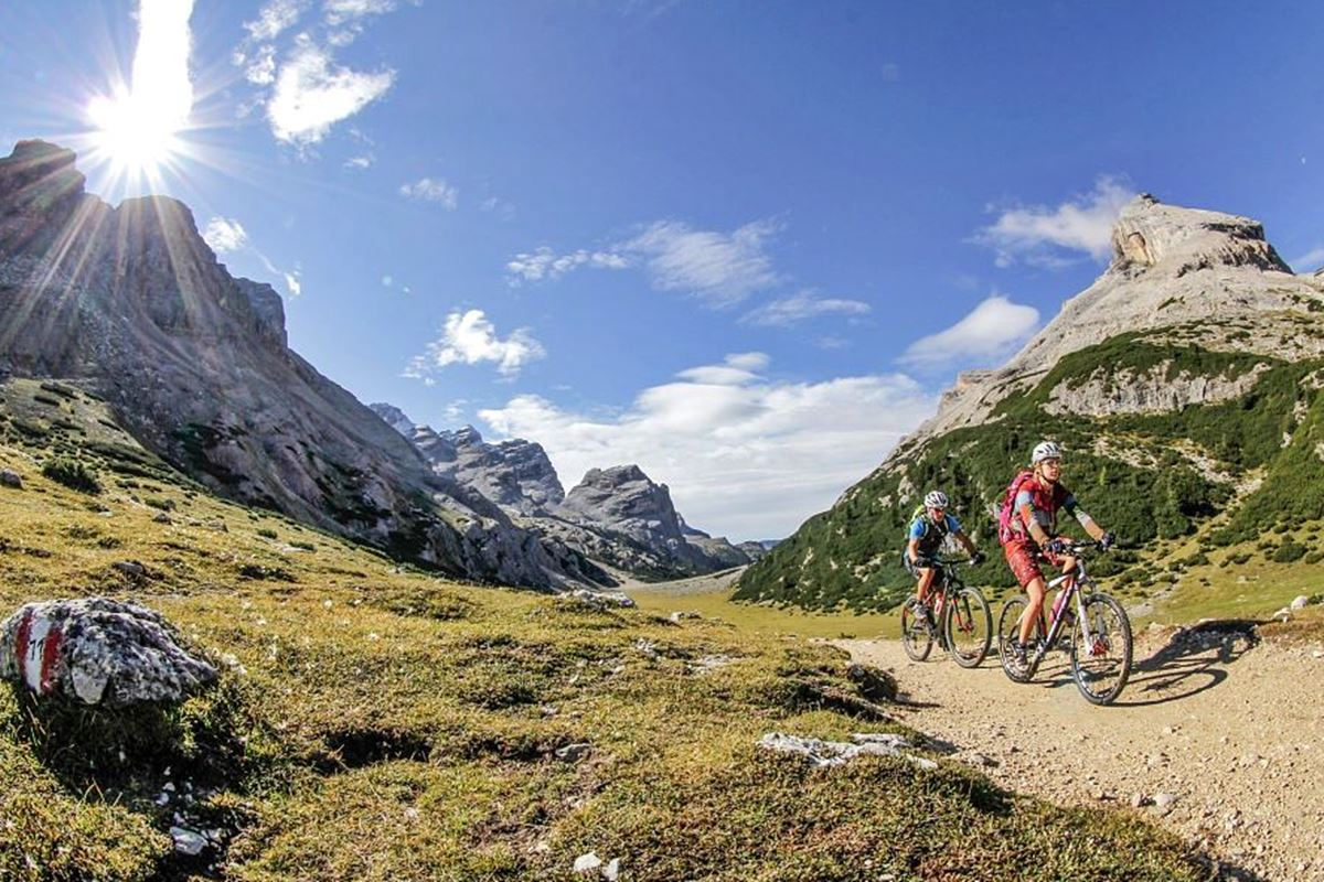 mountain bike enduro dolomiti