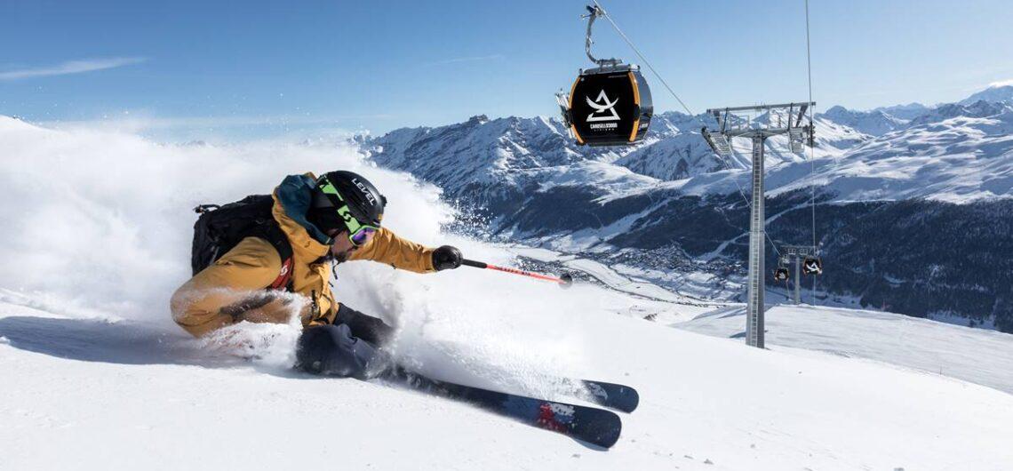 sci snowboard freeride livigno copyright foto samuel confortola livigno carosello 3000