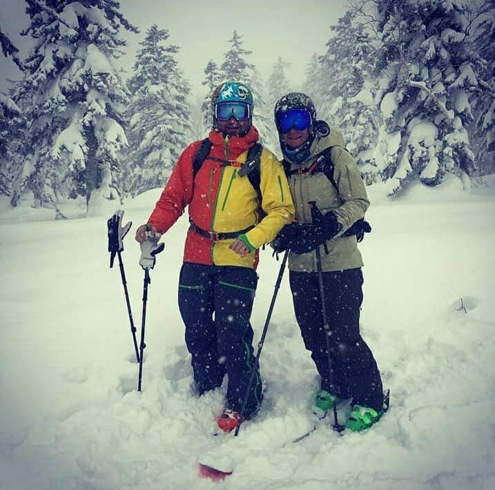 viaggio di nozze sci snowboard freeride