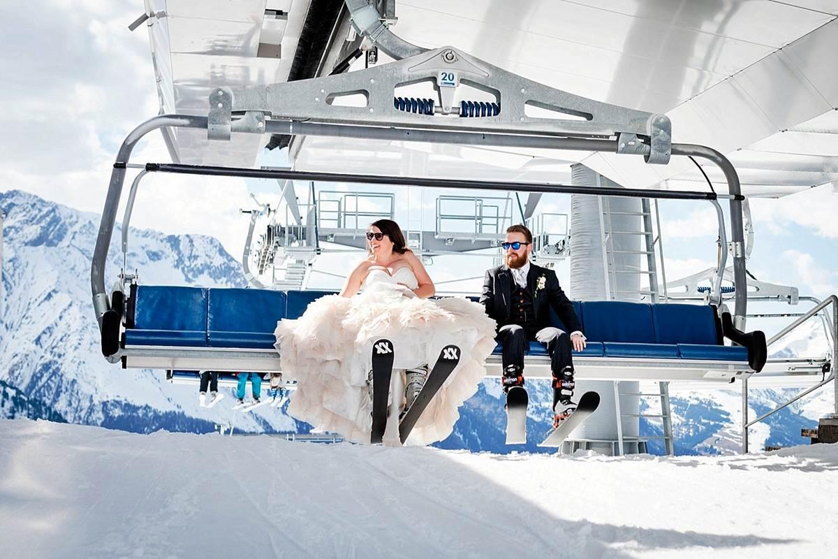 viaggio di nozze sci