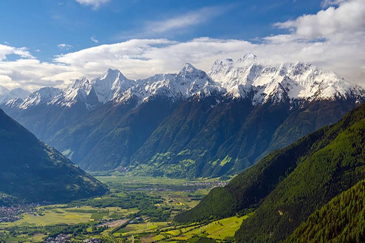 mountain bike alto adige enduro mtb panorama val venosta